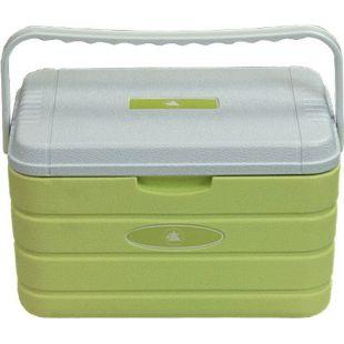 10T Kühlbox Fridgo 10L passive Thermobox PU Kühlbehälter warm/kalt Isolierbox starre Kühltasche Grün