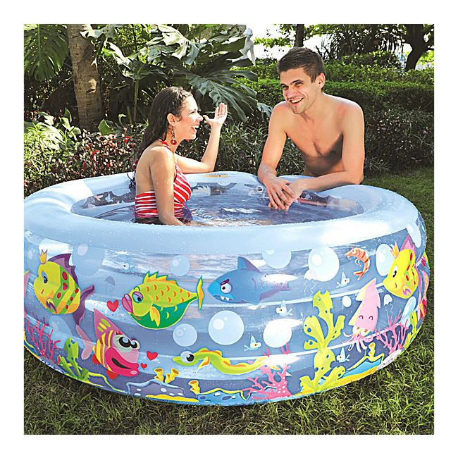 jilong aquarium pool 152 x 50 cm kinderpool. Black Bedroom Furniture Sets. Home Design Ideas