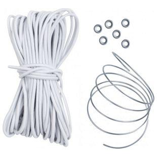 10T Stangengummi Shock Cord Plus Ø 3 mm, 13,5m Gummiband Elastikband zur Verbindung von Zeltstangen