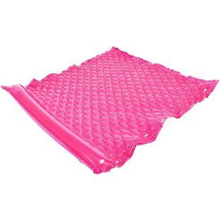 Jilong Wave Mat Duo Pink 218x183 Schwimmmatte 2 Mann Luftmatratze Strandmatte Poolliege Wasserliege