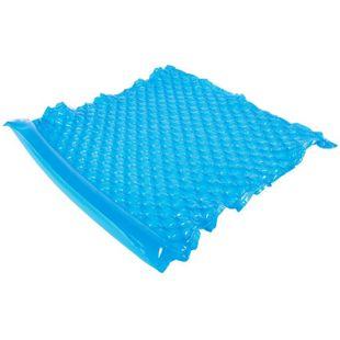 Jilong Wave Mat Duo Blue 218x183 Schwimmmatte 2 Pers. Luftmatratze Strandmatte Poolliege Wasserliege