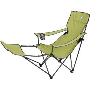 10T Campingstuhl Quickfold Plus Beechnut Klappstuhl Gartenstuhl Stuhl mit Fußstütze Getränkehalter