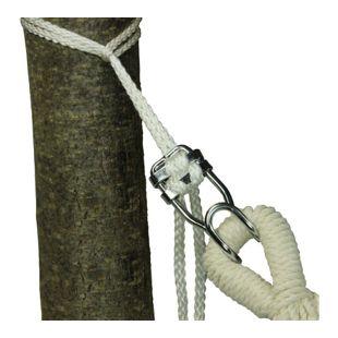 10T Hamacafix universal Befestigung Set für Hängematte Stabhängematte 2x Seil Knebelverschluss Haken