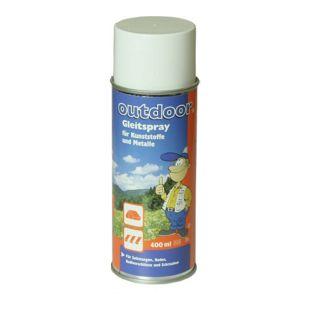 10T Slide It 400ml Gleitspray für Zelt Reißverschluß Gleitmittel für Vorzelt-Keder und Kederleisten, Silikon-Spray für Reißverschlüsse Metall- und Kunststoff-Teile aller Art