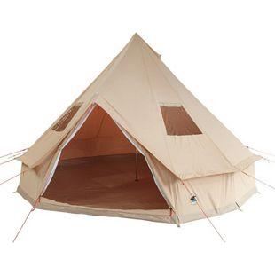 10T Camping-Zelt Desert 8 wasserdichtes 4 - 8 Mann Familienzelt Tipi  aus Baumwoll-Mischgewebe