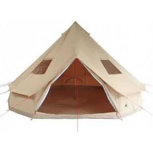 10T Camping-Zelt Desert 10 wasserdichtes 5 - 10 Mann Familienzelt Tipi aus Baumwoll-Mischgewebe