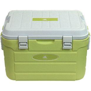 10T Kühlbox Fridgo 30L passive Thermobox PU Kühlbehälter warm/kalt Isolierbox starre Kühltasche Grün