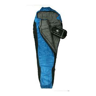 10T Schlafsack INNOKO XL -18° warm weich leicht 1900g Mumienschlafsack 215x85 Blau/Schwarz 300g/m²