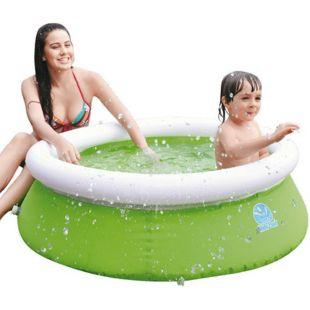 Jilong Kids Quick-Up Swimming Pool Ø122x35 cm Kinderpool Fast-Set Planschbecken Kinder Schwimmbecken