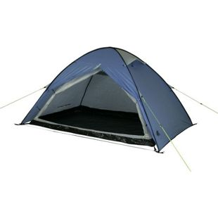 10T Campingzelt Easy 2 blaues Pop-Up Wurfzelt wasserdichtes 2 Mann Automatik Zelt mit Innenzelt