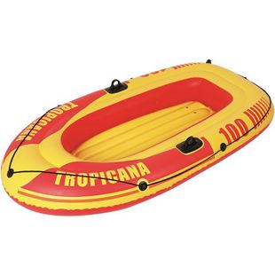 Jilong Tropicana 100 Boot 185x98x28 cm Schlauchboot Ruderboot Paddelboot Gummiboot 120kg Tragkraft