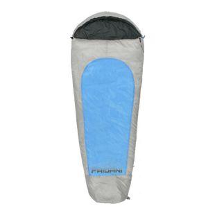 Fridani XL Kinderschlafsack MB 175x70 cm Mumienschlafsack -19°C Blau warm wasserabweisend waschbar