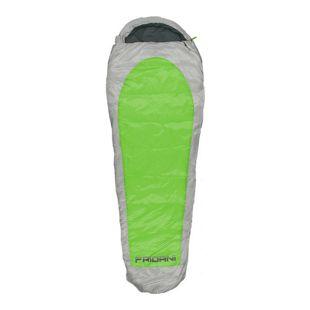 Fridani Schlafsack EG 235x85cm XL Mumienschlafsack Grün -20°C leicht warm wasserabweisend waschbar