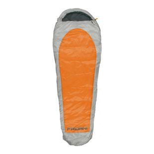 Fridani Schlafsack EO 235x85cm XL Mumienschlafsack Orange -20°C leicht warm wasserabweisend waschbar