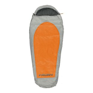 Fridani Kinderschlafsack EO 180x75cm XL Mumienschlafsack -11°C Orange warm wasserabweisend waschbar
