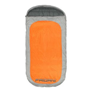 Fridani Schlafsack PO 220 x 110 cm XXL Deckenschlafsack Orange -18°C warm wasserabweisend waschbar
