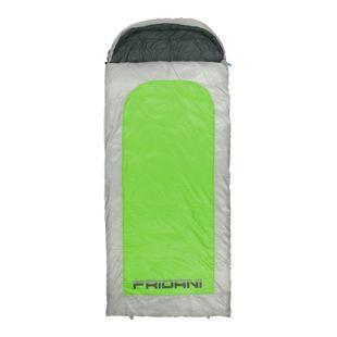 Fridani Schlafsack BG 235 x 100 cm XXL Deckenschlafsack Grün -22°C warm wasserabweisend waschbar