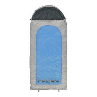 Fridani Kinderschlafsack BB 180x80cm XXL Deckenschlafsack -15°C Blau warm wasserabweisend waschbar