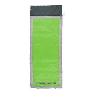Fridani Schlafsack QG 225 x 85 cm XL Deckenschlafsack Grün -7 °C warm wasserabweisend waschbar