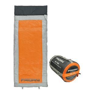 Fridani Kinderschlafsack QO 170 x 70cm Deckenschlafsack +6 °C Orange warm wasserabweisend waschbar