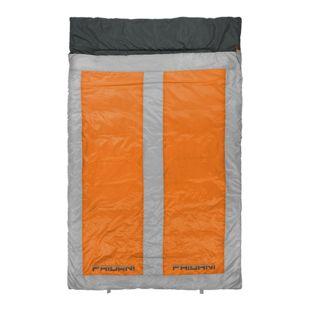 Fridani 2 Mann Schlafsack QO 225x140 XXL Deckenschlafsack Orange -22°C warm wasserabweisend waschbar