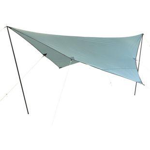 10T Tarp Arona 4x4 m Sonnensegel UV 80+ Sonnenschutz wasserdichtes Sonnendach Blau inkl. Zubehör