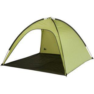 10T Strandmuschel Aruba UV 80+ Strandzelt 3 Mann Sonnenschutz XL Familien Windschutz Zelt