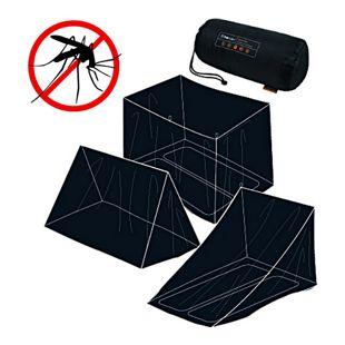 Trekmates Moskitonetz 2 Personen Mückennetz Insektenschutz Bett Fliegengitter