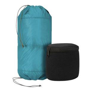Trekmates Bag 6L Packbeutel mit 2 Neopren Taschen Packsack beidseitig befüllbar