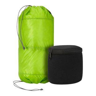 Trekmates Bag 10L Packbeutel mit 2 Neopren Taschen Packsack beidseitig befüllbar