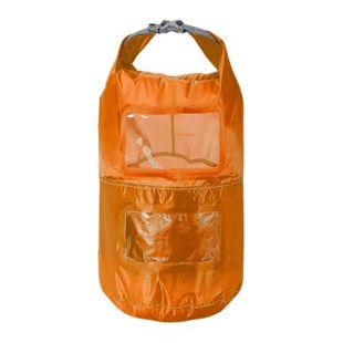Trekmates Packsack 6L Seesack 2 Packfächer Packbeutel mit Sichtfenster Dry Bag