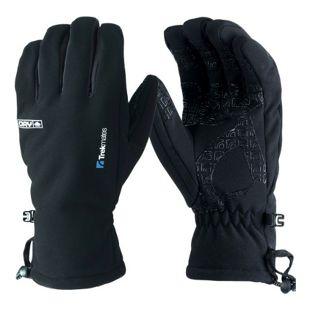 Trekmates Robinson S Herren Soft Shell Handschuh Fingerhandschuh mit Dry Membran