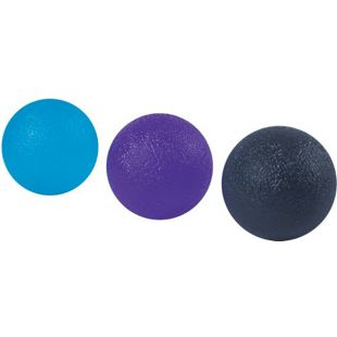 Spirit Handtrainer Fingertrainer 3x Therapieball Finger Hand Reha Pressball