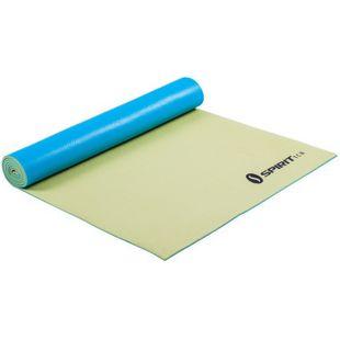 Spirit Yoga-Matte Lemon 175x61 rutschfeste Yogamatte Sportmatte, Pilates, Gymnastik & Fitness