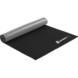 Spirit Yoga-Matte Silver 175x61 Sportmatte Fitness Pilates Gymnastik Unterlage