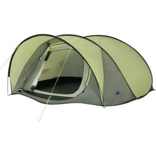 10T Campingzelt Maxi 3 Pop-Up Wurfzelt wasserdichtes 3 mann Automatik Zelt mit Innenzelt & Vordach