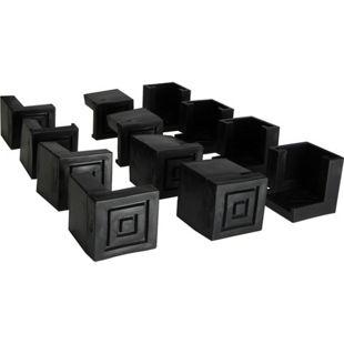JOM 12 tlg. Bodenschoner Schutzkappe für Bierzeltgarnituren Festzeltgarnituren Material Kunststoff