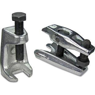 JOM Kugelgelenkabzieher und Spurstangenkopf-Ausdrücker Set, zum Ausbau der Traggelenk Gelenkbolzen, 2-teilig