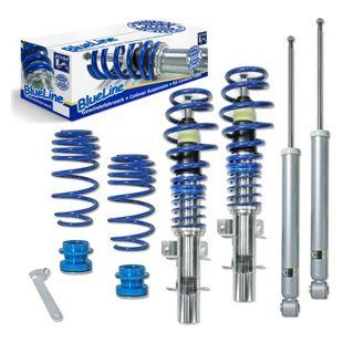 Blueline Gewindefahrwerke BlueLine Gewindefahrwerke VW Polo 9N, 9N2, 9N3 und Fox 5Z 1.2, 1.4, 1.6, 1.8T, 1.4 TDi, 1.9SDi, 1.9TDi, Baujahr 04.2002-2009
