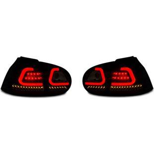 JOM LED Rückleuchten mit Lightbar schwarz VW Golf 5 Bj. 03-08
