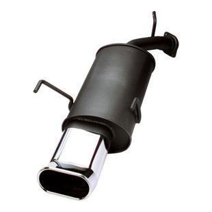JOM Endschalldämpfer, 2 x 90 mm, ovalTour, mit ABE VW Beetle 1,4 / 1,6 / 1,8 / 1,8T / 1,9TDI / 2,0 nicht für RSI