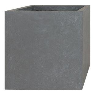 Pflanzwerk Pflanzkübel CUBE - (Grau) - 23cm x 23cm x 23cm