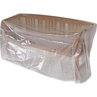 DEGAMO Abdeckhaube Tisch / Bank 160x75cm, PE transparent
