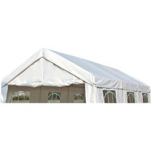 DEGAMO Ersatzdach / Dachplane PALMA für Zelt 3x6 Meter, PE weiss