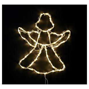 DEGAMO Weihnachtssilhouette Engel 50 Lämpchen, beleuchtet