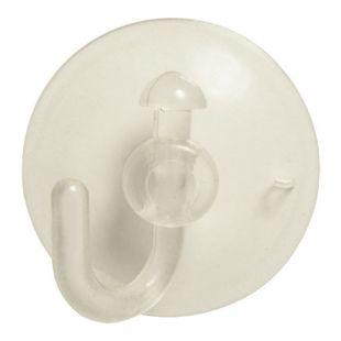 DEGAMO Saugnapf mit Haken für Lichterketten, 35mm Durchmesser, 20-er Set
