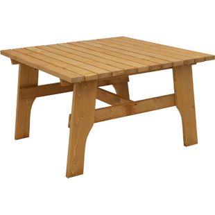 DEGAMO Tisch FREITAL 120x120cm, Kiefer imprägniert