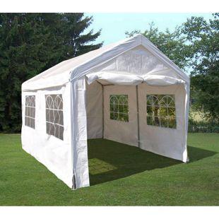 DEGAMO Party - Zelt PALMA 3x4 Meter, PE weiss