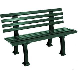 gartenmoebel-einkauf Bank IBIZA 2-sitzer, Kunststoff grün