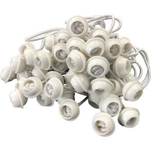 DEGAMO Gummispanner für Zeltplanen, 50 Stück